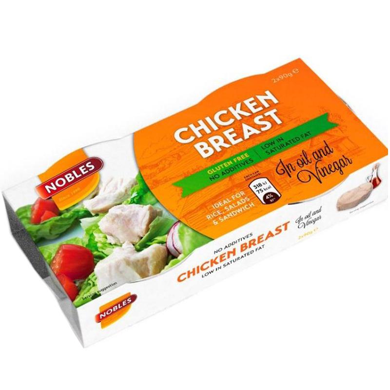 Kycklingfilé Solrosolja & Vinäger 2 x 90g - 28% rabatt