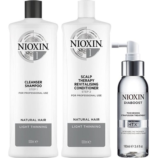 System 1 Trio For Natural Hair, Nioxin Hiustenhoito