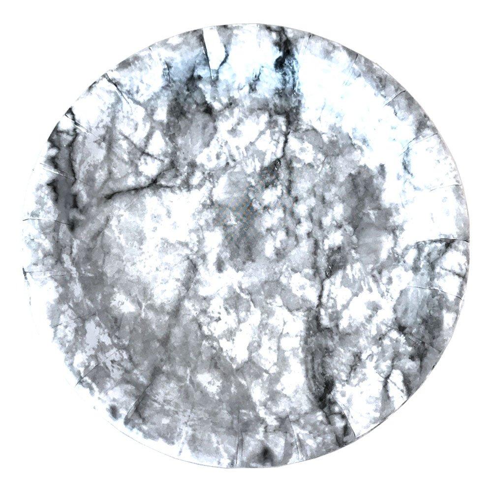 Papperstallrikar Marmor - 8-pack