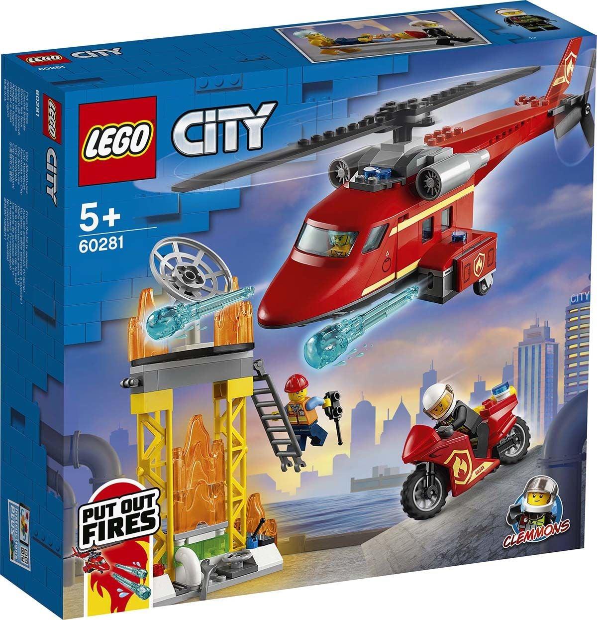 LEGO City Fire 60281 Palopelastushelikopteri