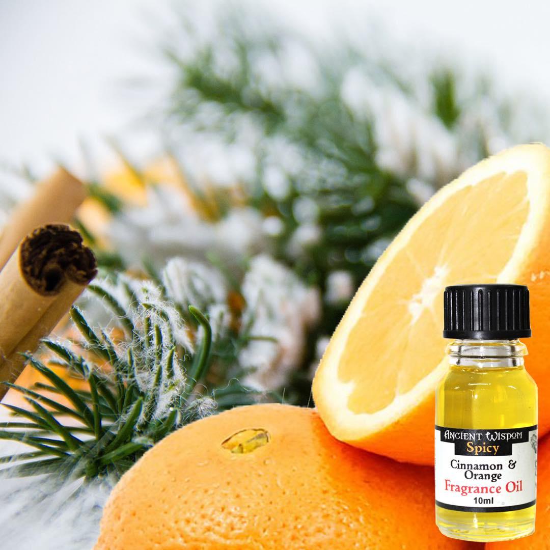 Kanel & Apelsin Doftolja 10ml - Ancient Wisdom