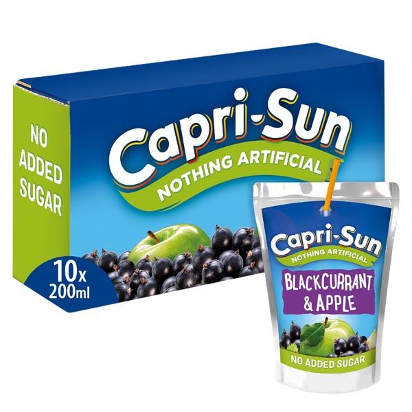 Capri-Sun Blackcurrant Apple - 10-pack