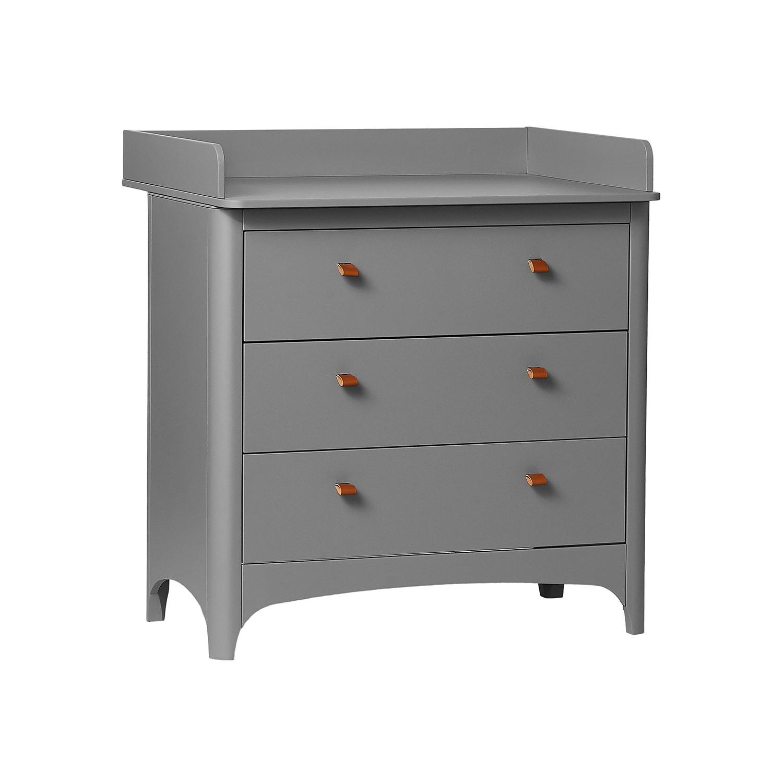 Skötbord Leander Classic grå