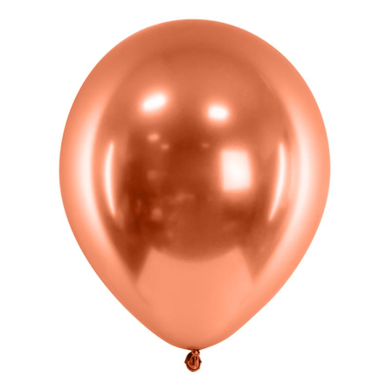 Ballonger Krom Koppar - 10-pack