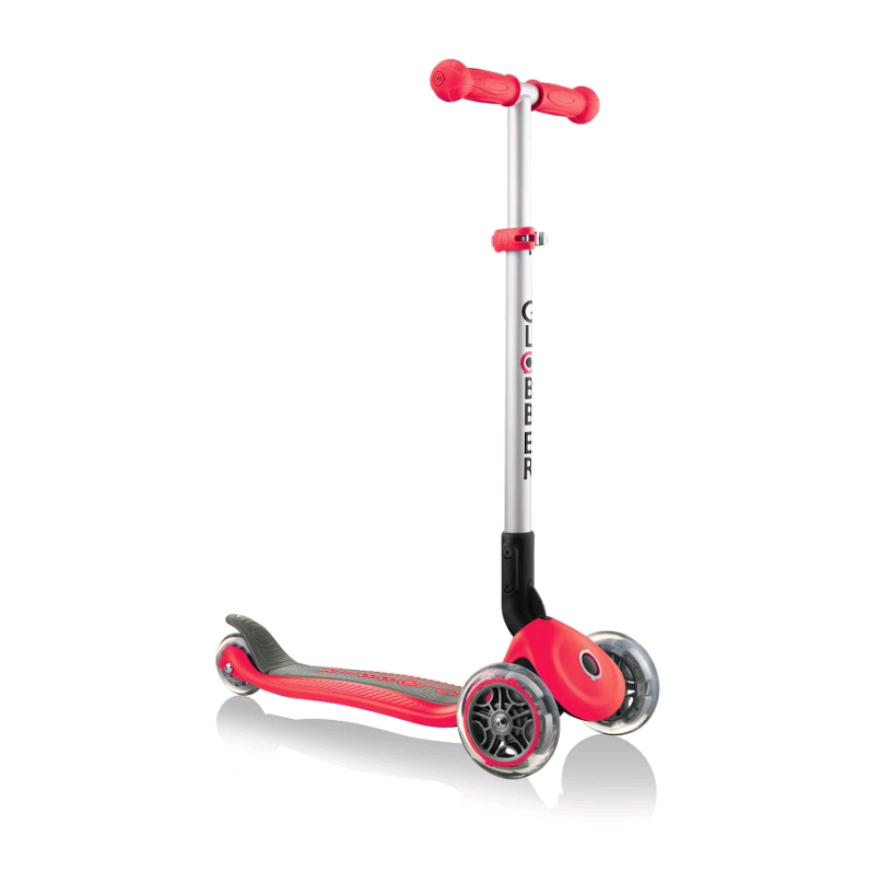 GLOBBER - Primo Foldable Scooter - Red (430-102-2)