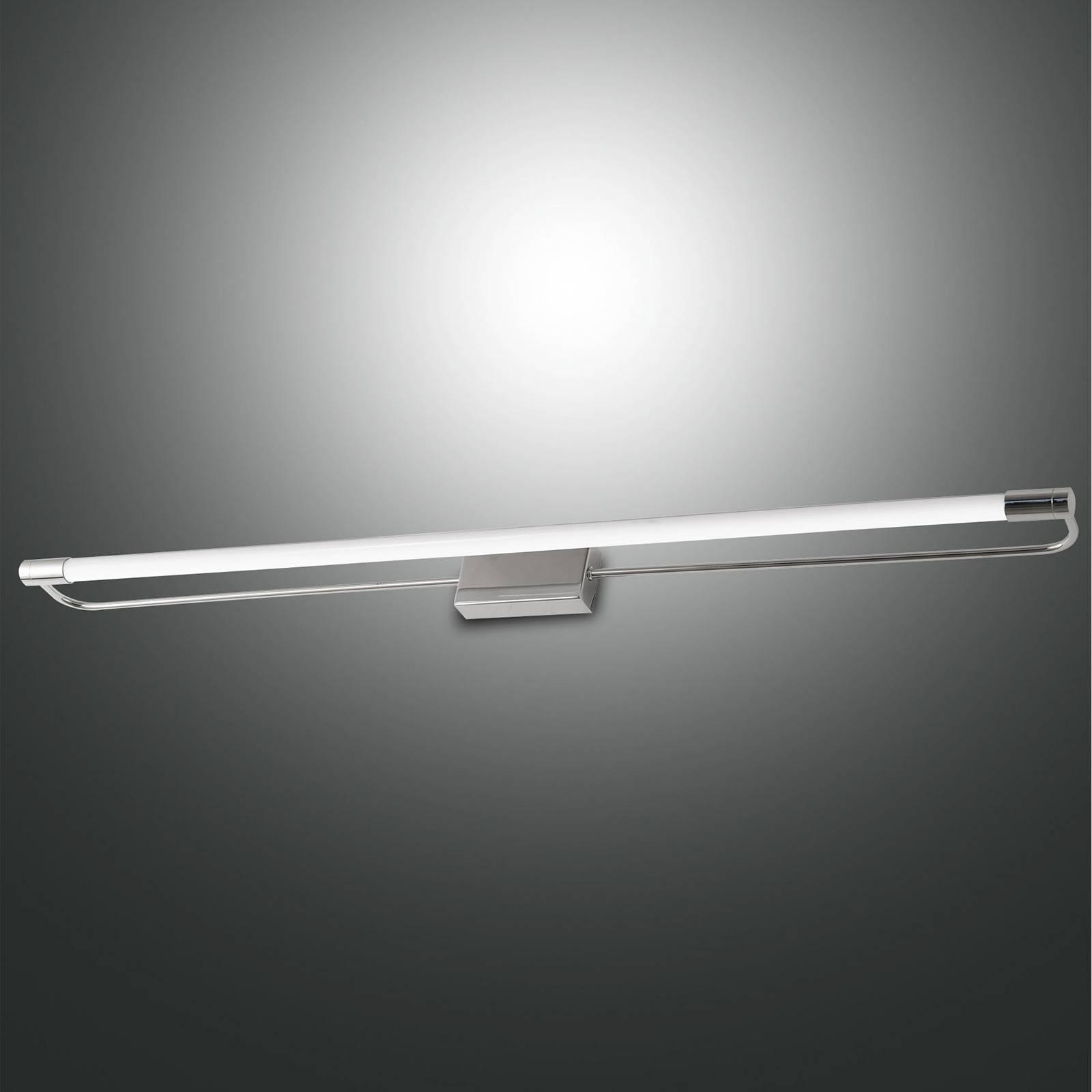 LED-seinävalaisin Rapallo, kromi, IP44, 80 cm
