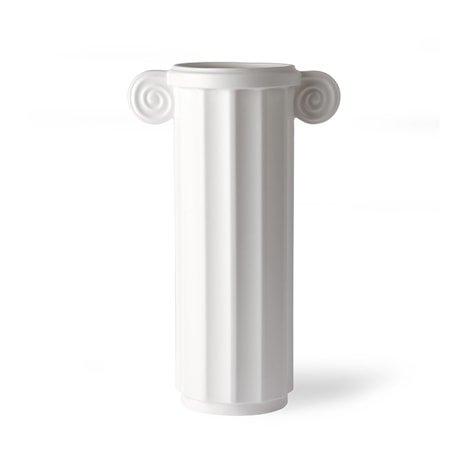 White Ceramic Vase Greek C