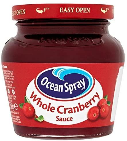 Ocean Spray Cranberry Wholeberry Sauce 250g