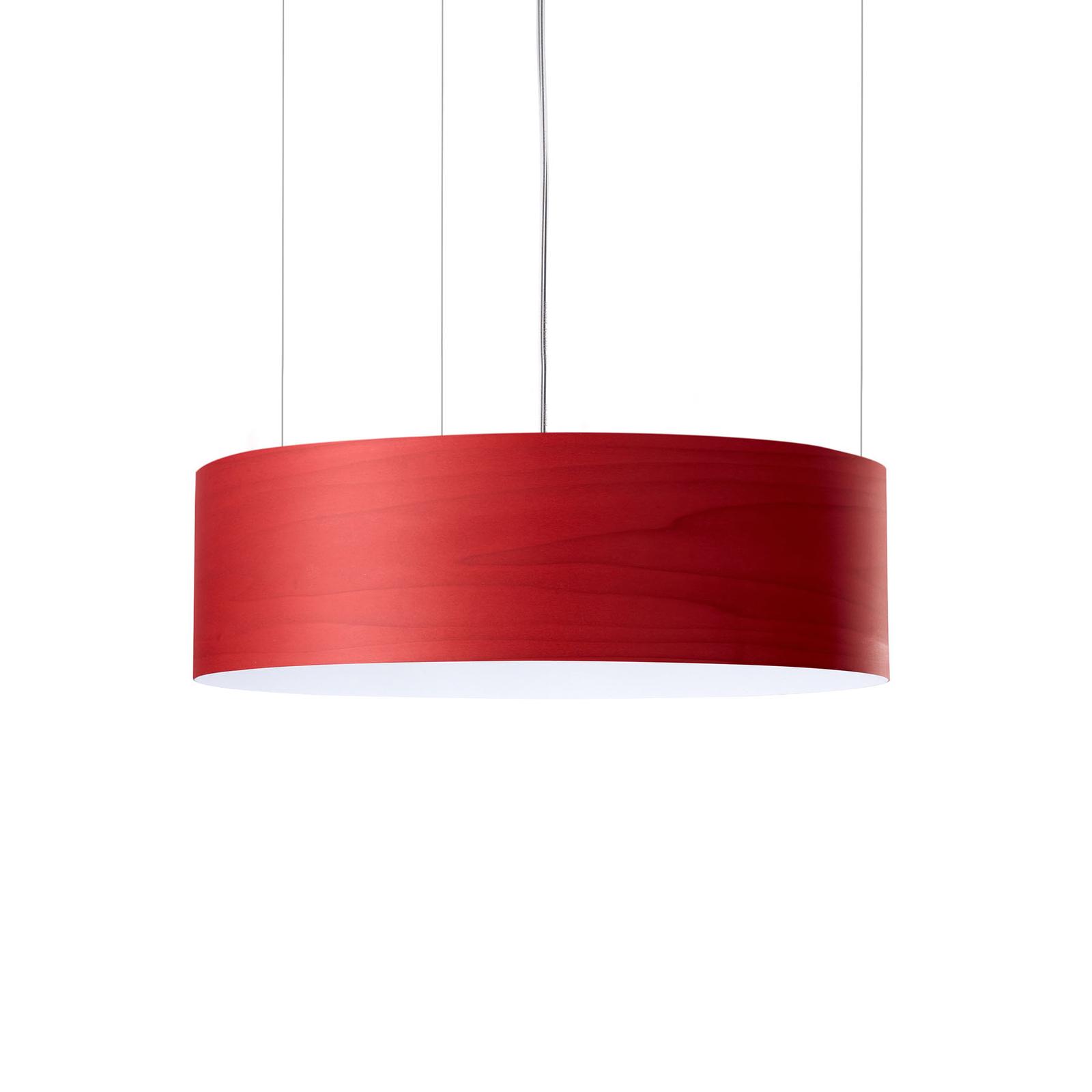 LZF Gea Slim -LED-riippuvalaisin 0–10 V, punainen