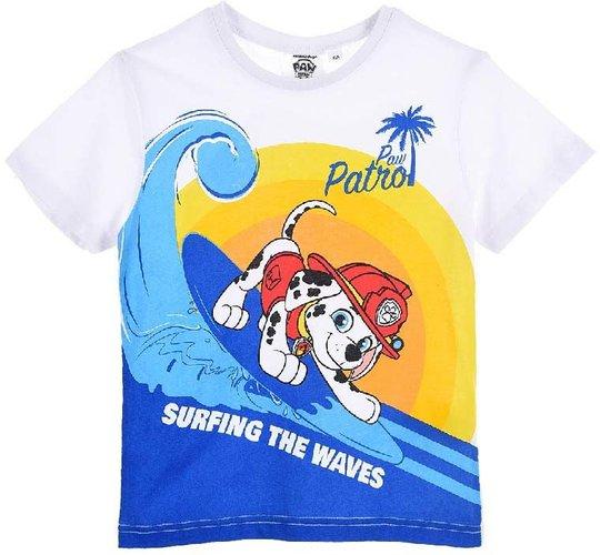 Paw Patrol T-Shirt, White, 5 År