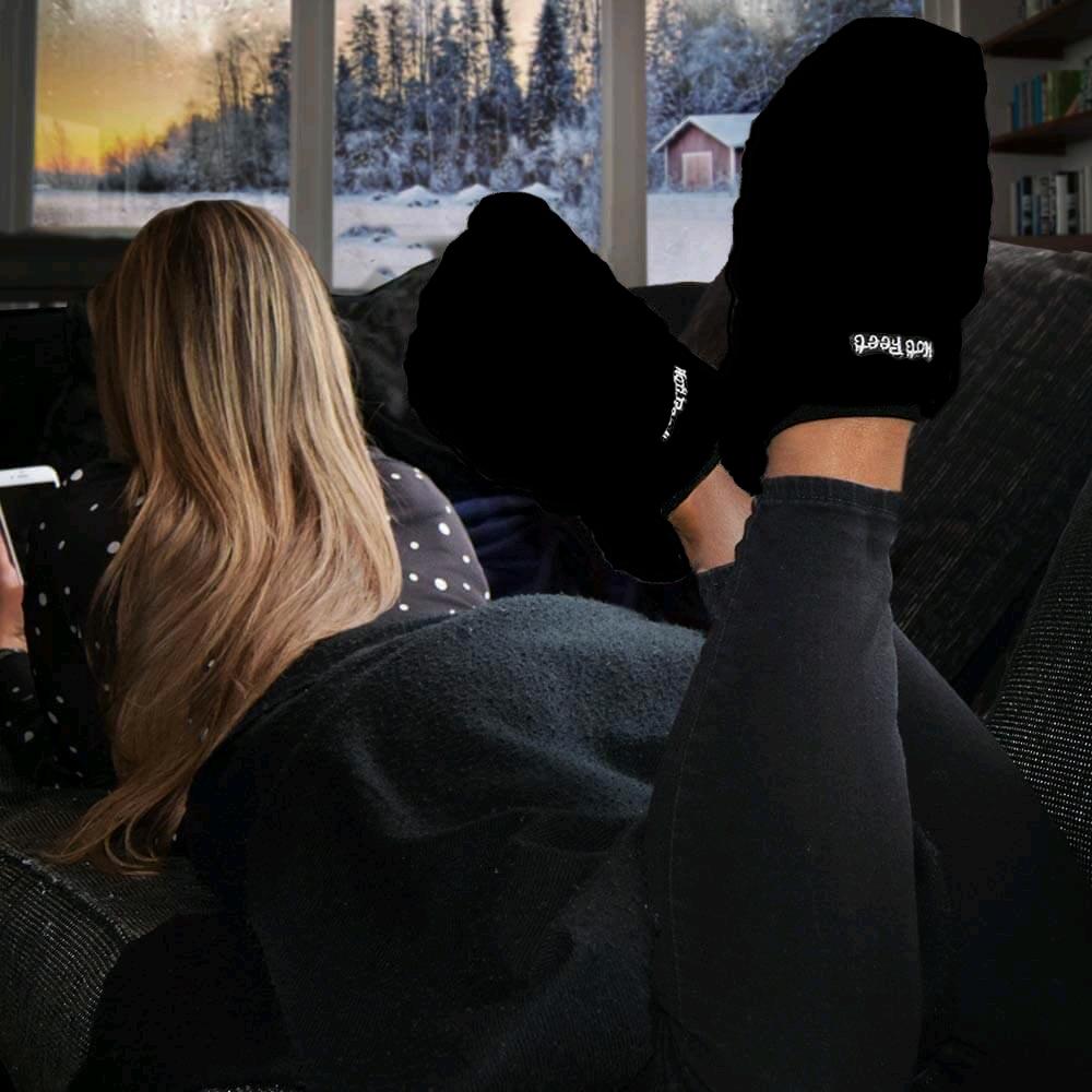 Hot Feet Deluxe - Black (01703.BK.LA)