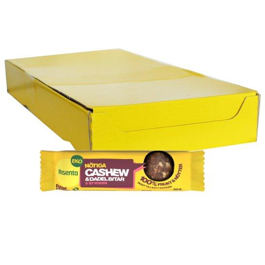 Hel Låda Cashew & Dadelbitar 16 x 30g - 40% rabatt