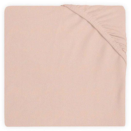 Jollein Stretchlaken Bomullsjersey 60x120cm, Pale Pink