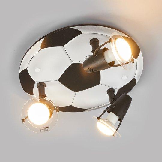 3-osainen Jalkapallo-kattovalaisin
