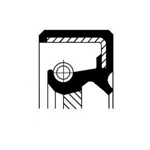 Oljepackningsring, automattransmission, Bak, Inre, Ingång, Utgång