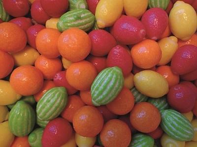 Tuggummi Frukter - 1 kg