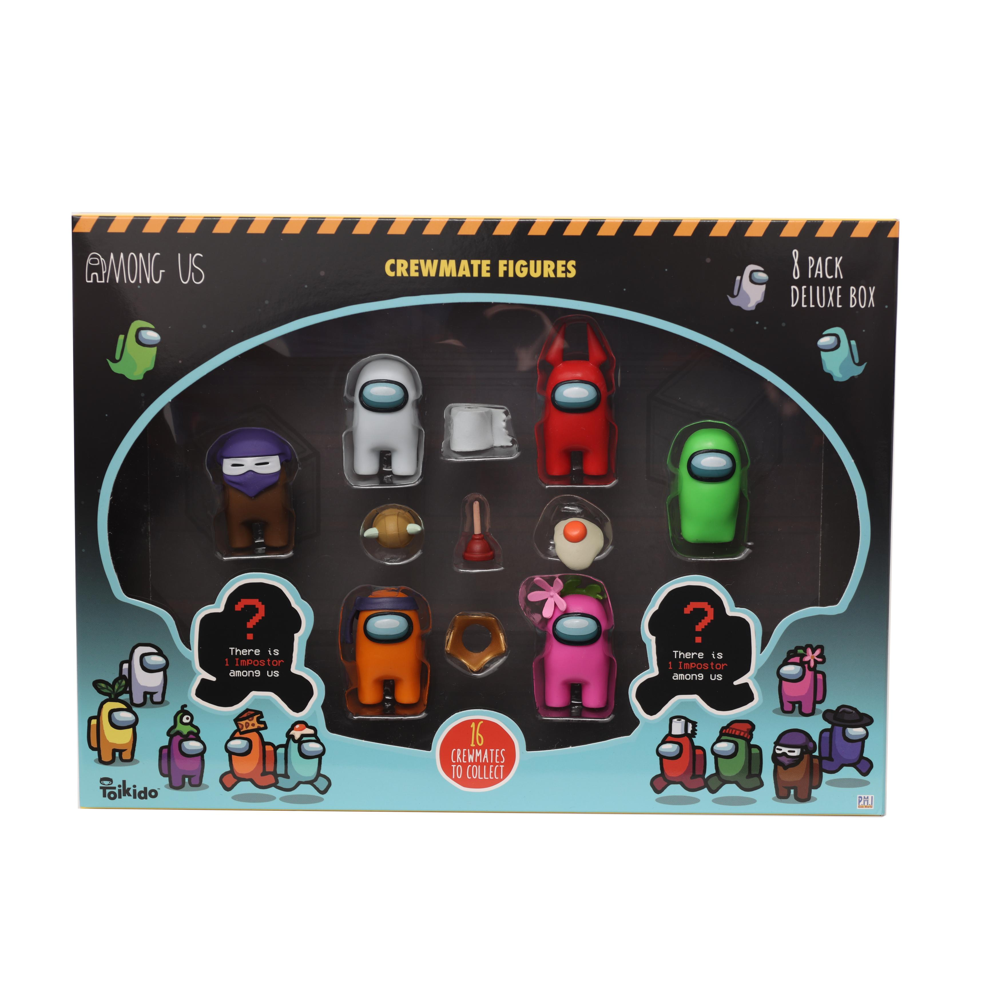 Among Us - Crewmate Figure 8 pack Deluxe (2070AU1)