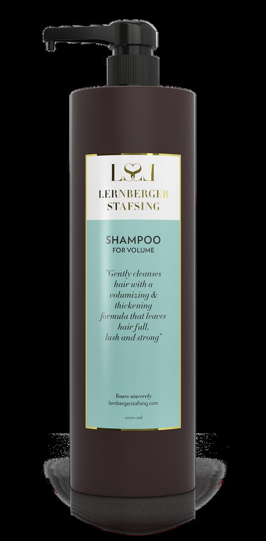 Lernberger Stafsing - Shampoo For Volume w. Pump 1000 ml