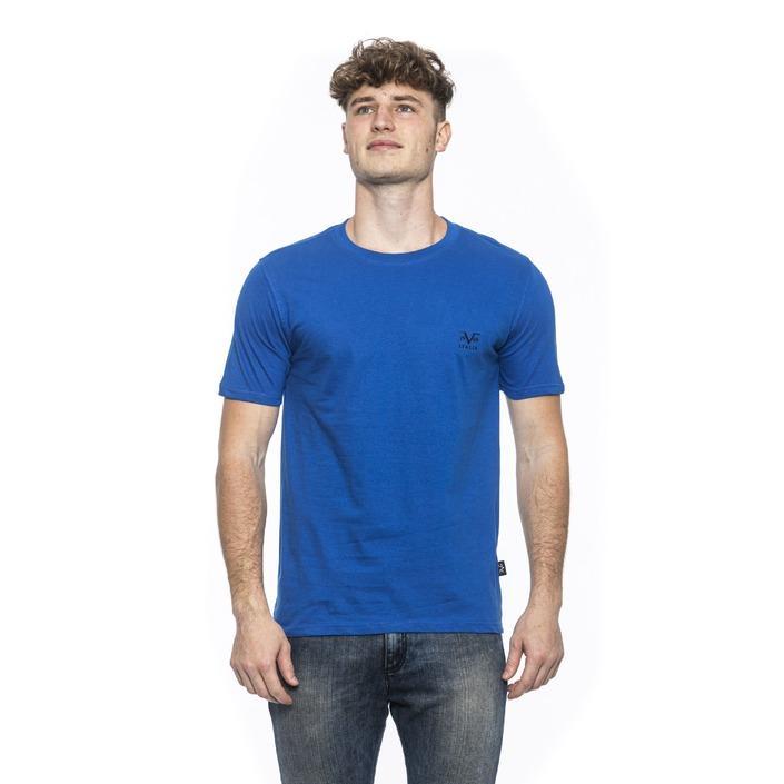19v69 Italia Men's T-Shirt Blue 185280 - blue L