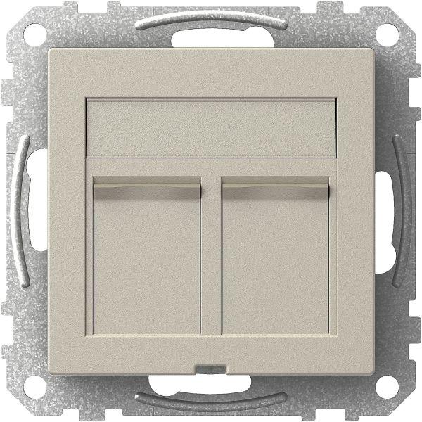 Schneider Electric WDE004434 Keskiölevy 2 x Actassi, suora Metallic