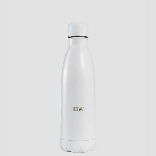 Waterbottle Stainless Steel 500ml, White
