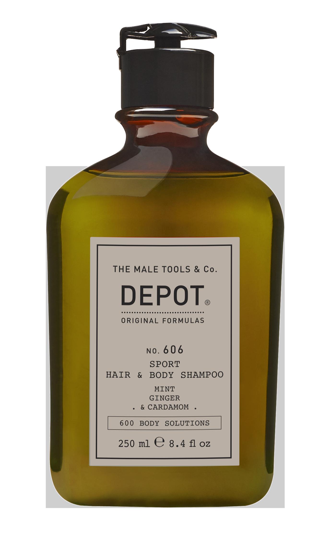 Depot - No. 606 Sport Hair & Body Shampoo - 250 ml