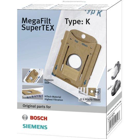 Siemens Dammsugarpåsar MEGAfilt, Type K VZ41AFK