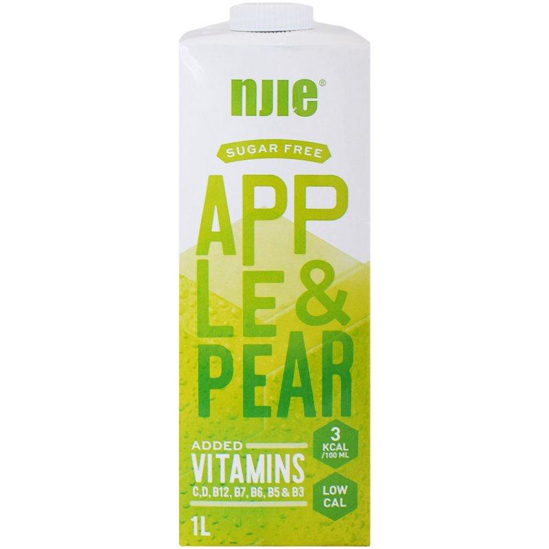 "Hedelmäjuoma ""Apple & Pear"" 1L - 17% alennus"