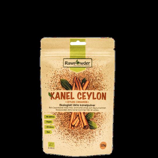 Kanel Ceylon, Äkta Kanelpulver Eko, 125 g