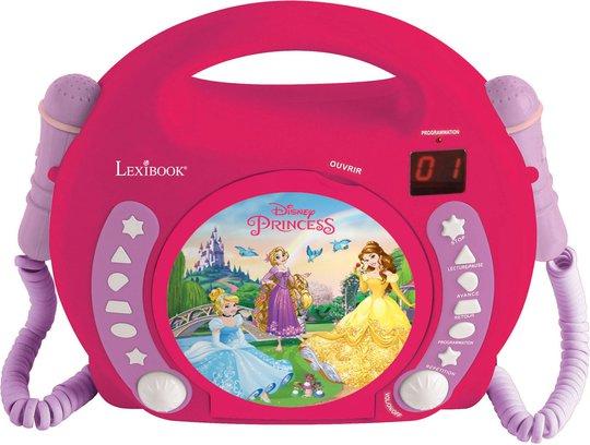 Disney Princess CD-spiller med Mikrofon
