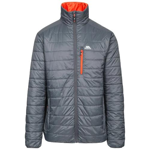 Trespass Men's Quilted Padded Jacket Various Colours Norman - Carbon S