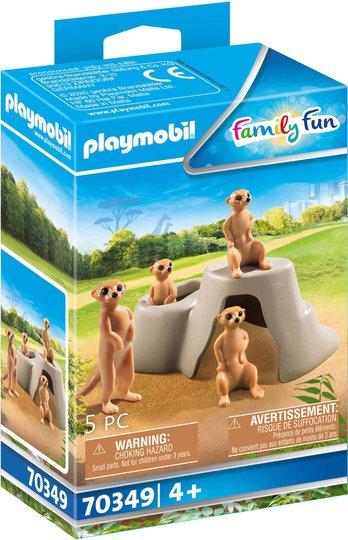 Playmobil 70349 Surikatkoloni