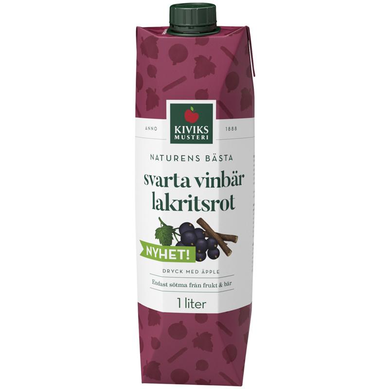 Dryck Svarta Vinbär & Lakritsrot - 41% rabatt