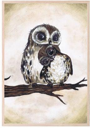 That's Mine Juliste Love Owls 30x40