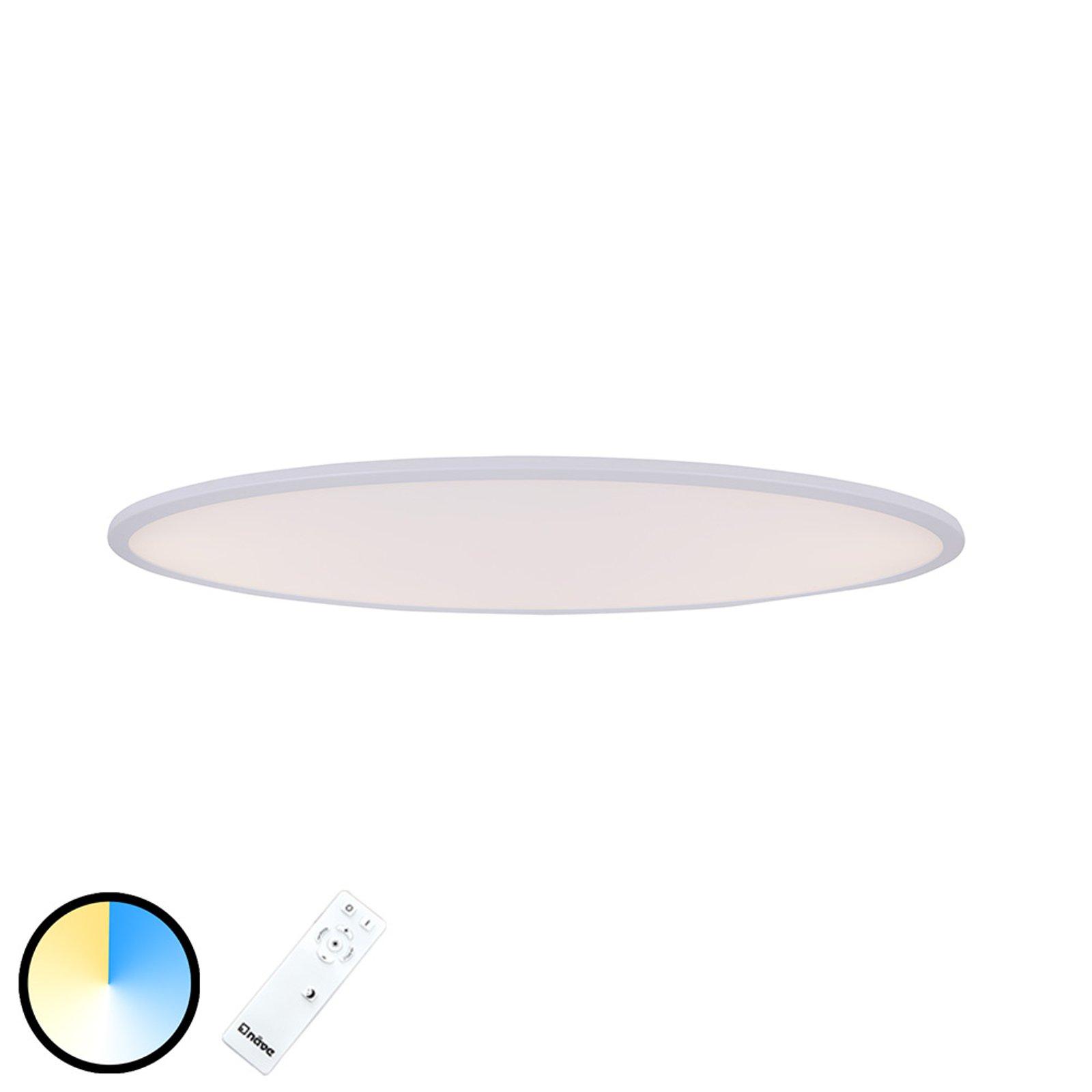 Amalfi LED-taklampe oval 100 cm x 40 cm