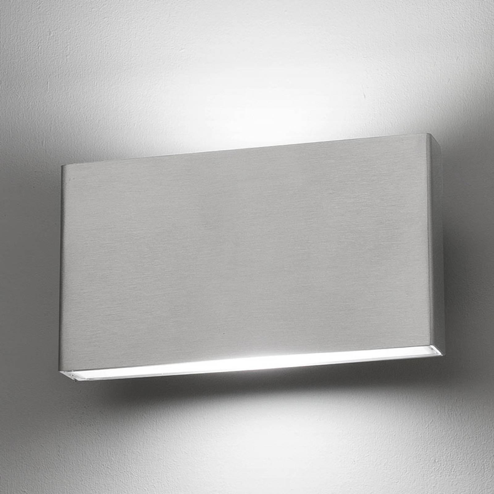 LED-vegglampe Kaula saltvannsresistent IP44