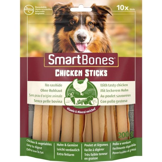 SmartBones Sticks Kyckling 10-pack