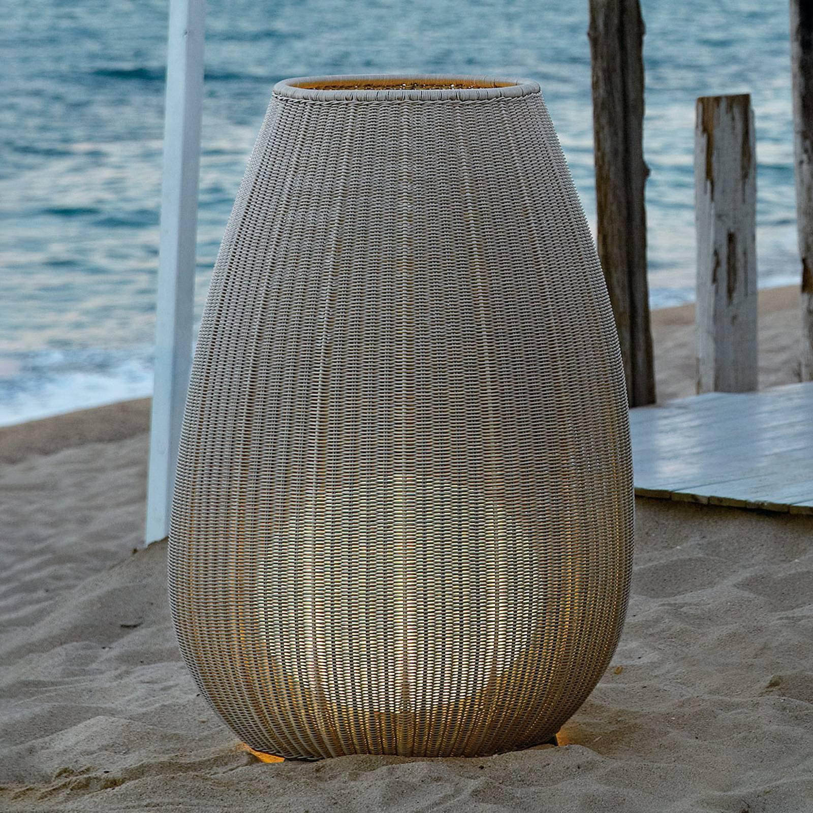 Bover Amphora 02 - terrasselampe, lys beige