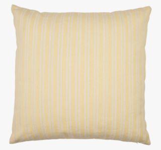 Bolster large stripe koristetyyny vaaleankeltainen