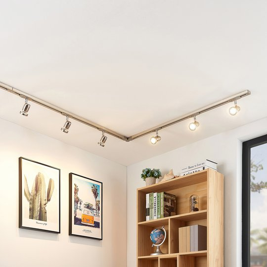 1-vaihe-LED-kiskojärjestelmä Radmir, 6-lampp.