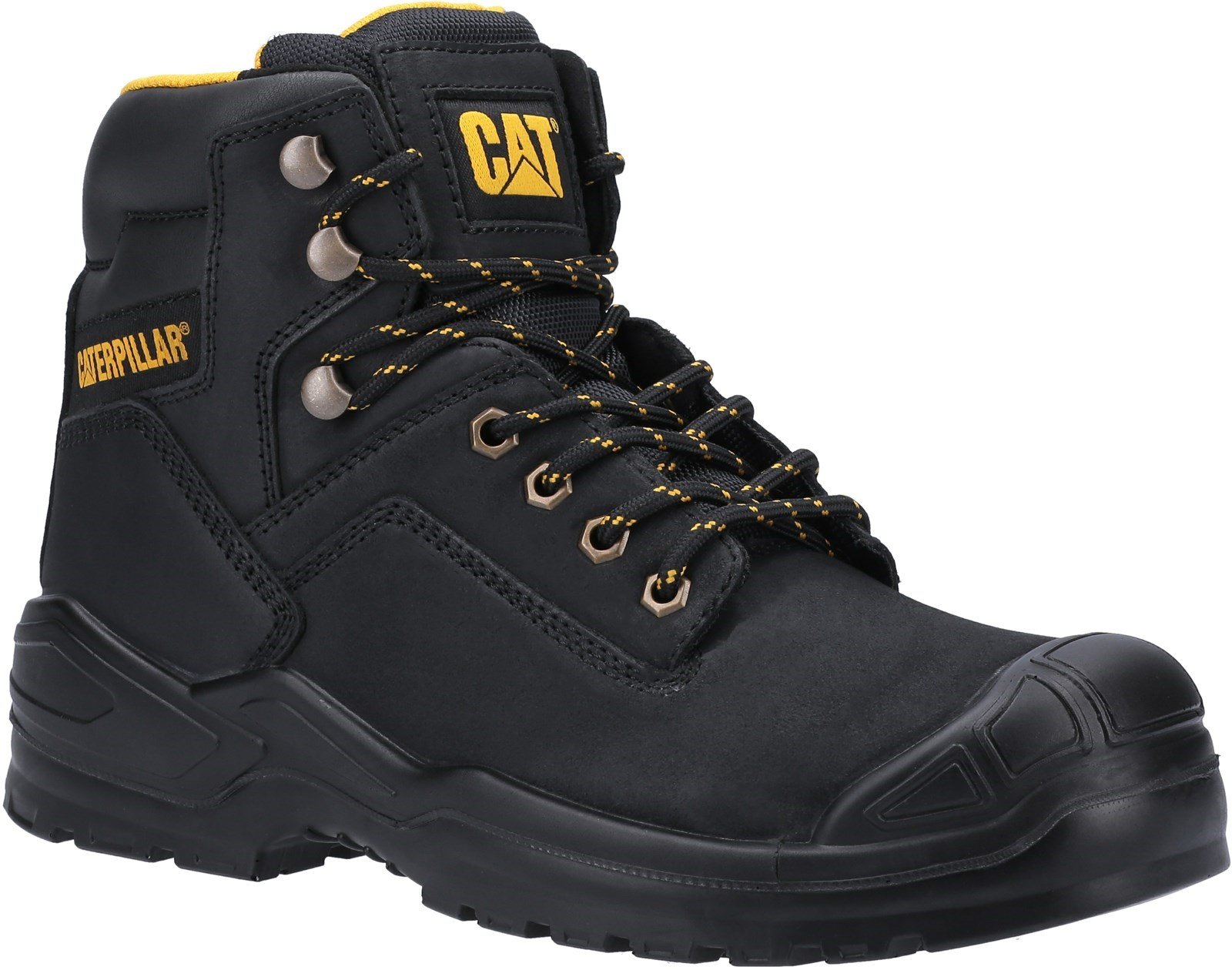 Caterpillar Unisex Striver Mid S3 Safety Boot Various Colours 31900 - Black 6
