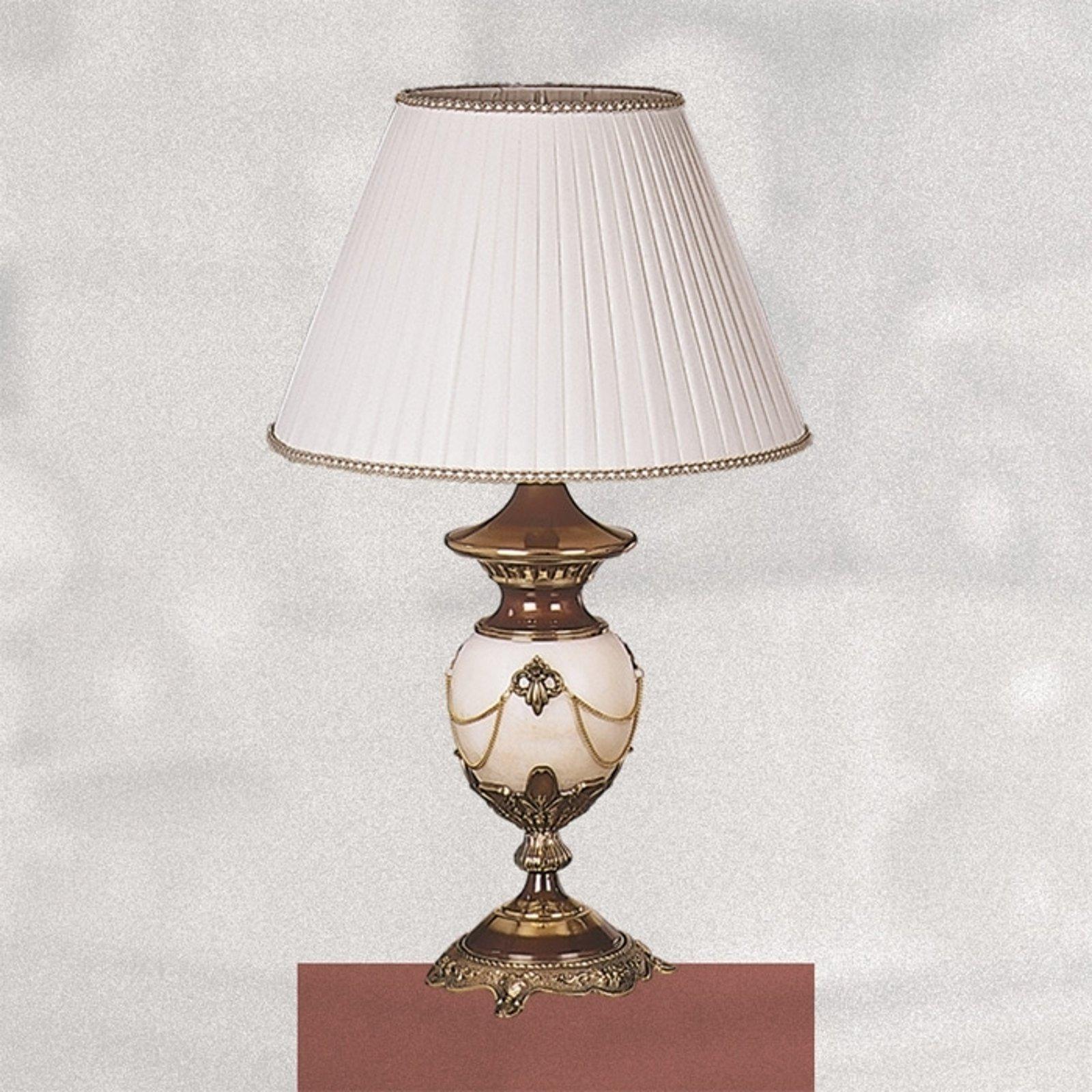 Svært dekorativ bordlampe PRESTIGE 66 cm