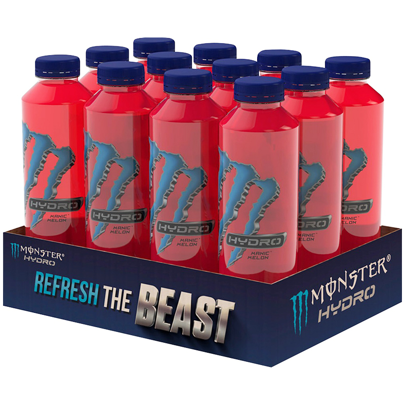 Monster Hydro Manic Melon 12-pack - 63% rabatt