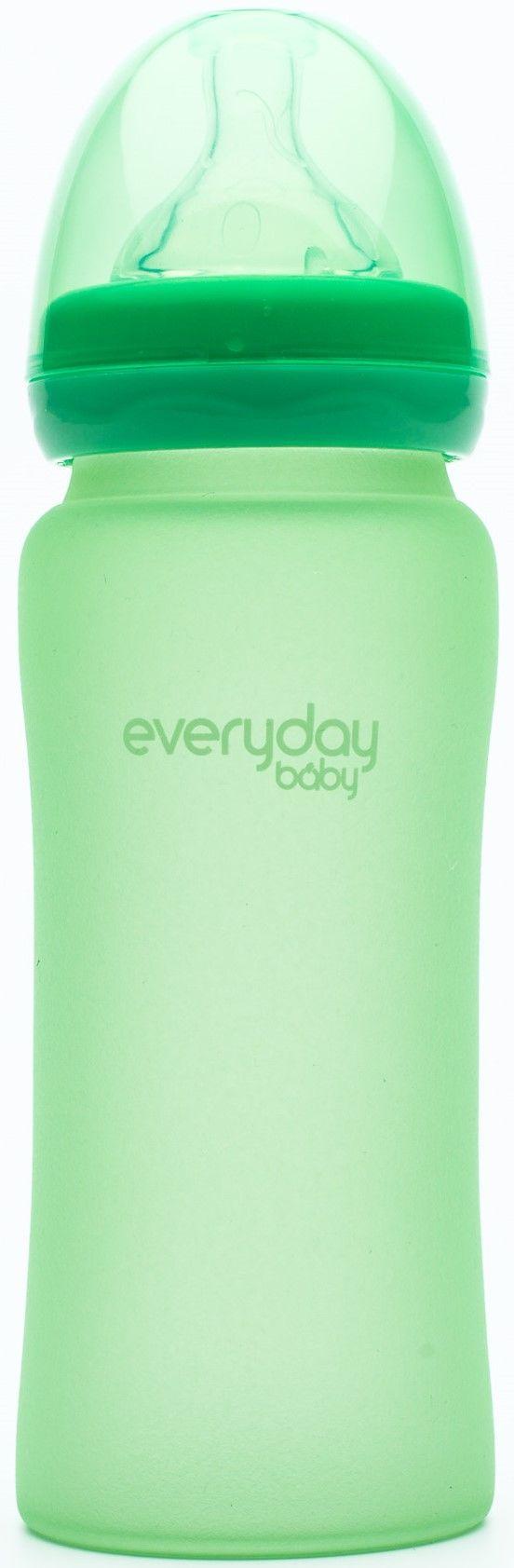 Everyday Baby Nappflaska Värmin 300ml, Green