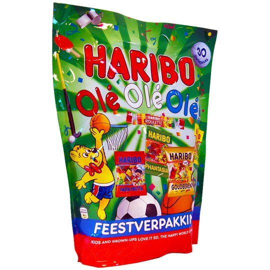 Haribo Blandade Sorter - 75% rabatt