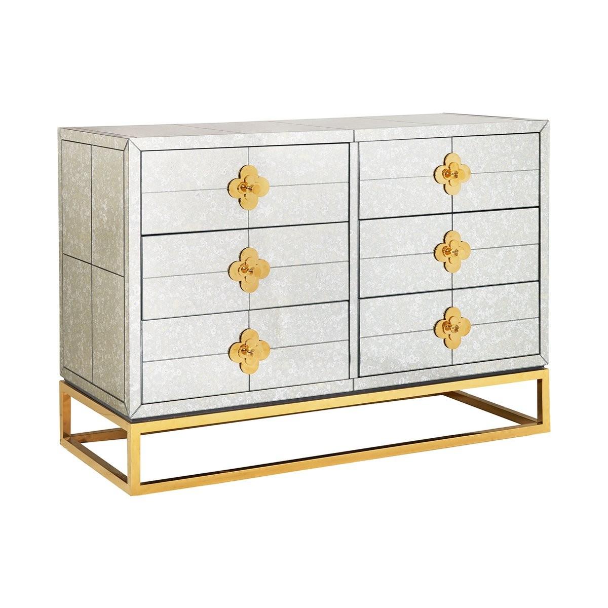 Jonathan Adler I Delphine Six Drawer Dresser
