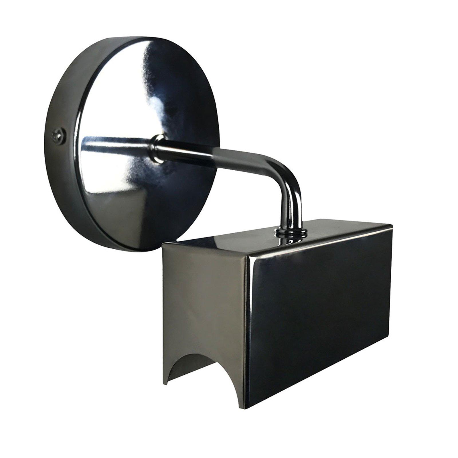 Reno vegglampe i svart for S14d-lampe