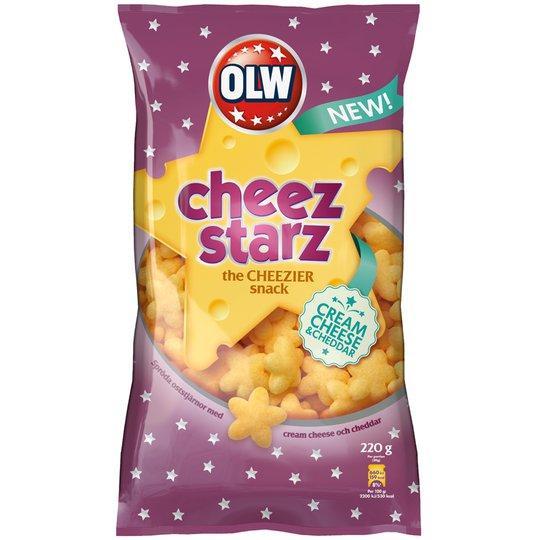 """Snacks """"Cheez Starz"""" 220g - 78% rabatt"""