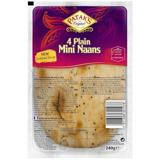 Naanbröd Mini - 44% rabatt