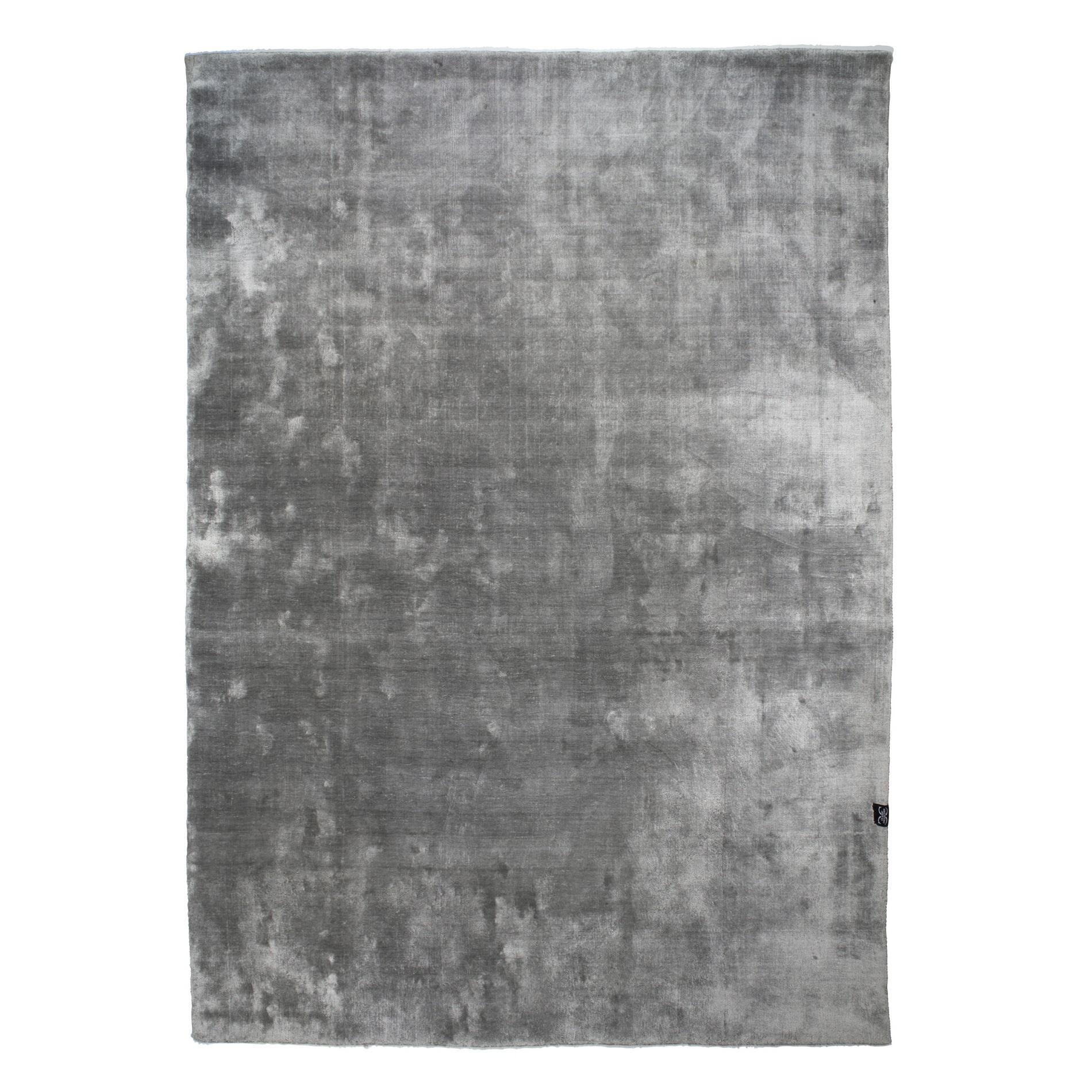 Viskosmatta VELVET TENCEL silver 140 x 200 cm, Classic Collection